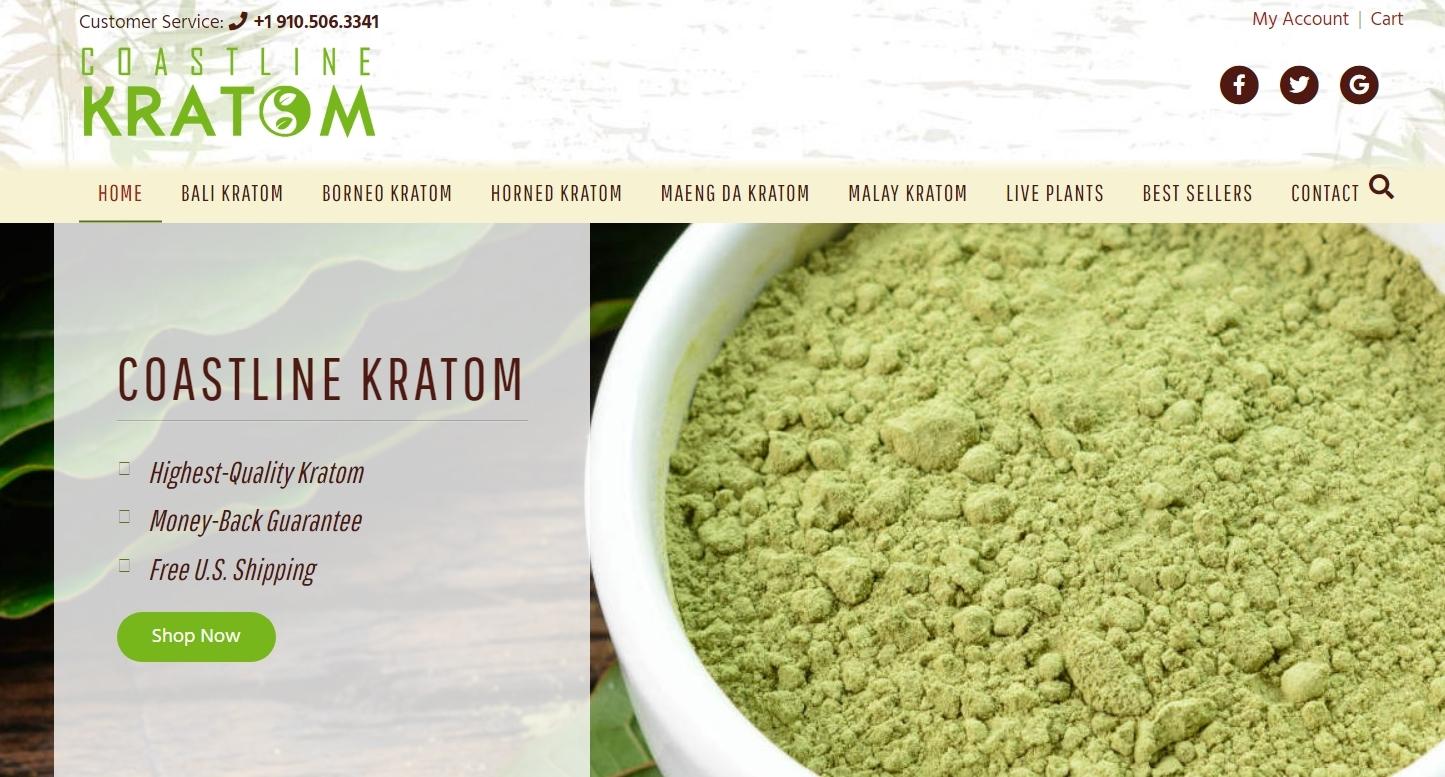 Coastline Kratom Best Well Known Kratom Vendor Homepage